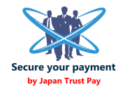 "Safe and secure payment system ""JAPAN TRUST PAY"""
